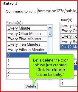 Default Themed] Set up a Cron Job (Unskinned) – MyHosting