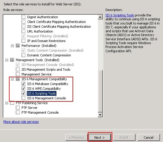 Server 2008] IIS 6 Scripting Tools – MyHosting Help Center
