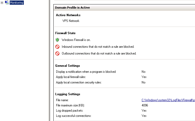 Server 2012] Firewall - Troubleshooting – MyHosting Help Center