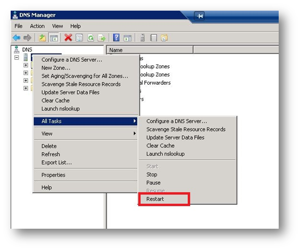 Server 2008] Disabling or Enabling DNS Recursion on Your